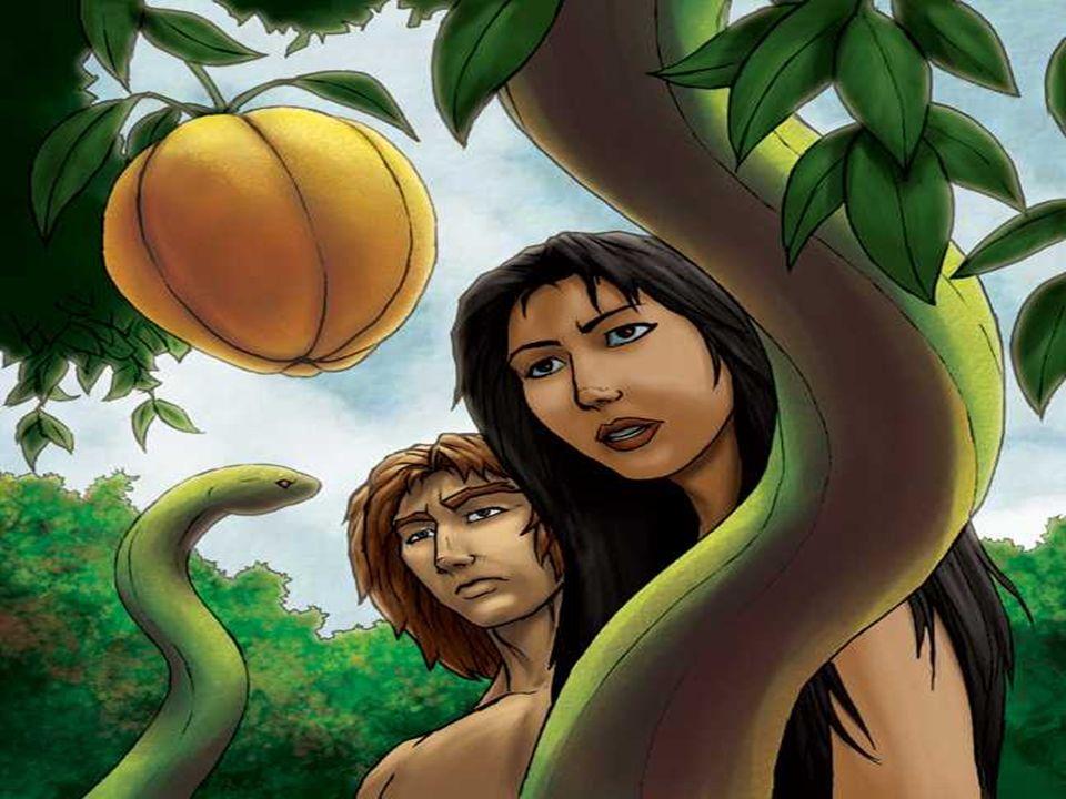 A 1ª Leitura apresenta a tentação de Adão e Eva: (Gen 2,7-9.3,1-7)