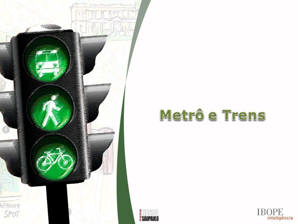 Metrô e Trens