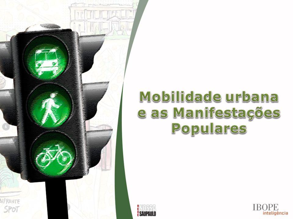 Mobilidade urbana e as Manifestações Populares
