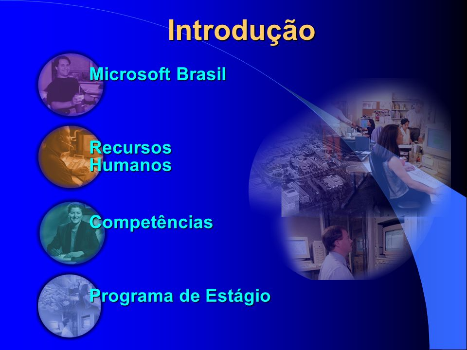 Introdução Microsoft Brasil Recursos Humanos Competências