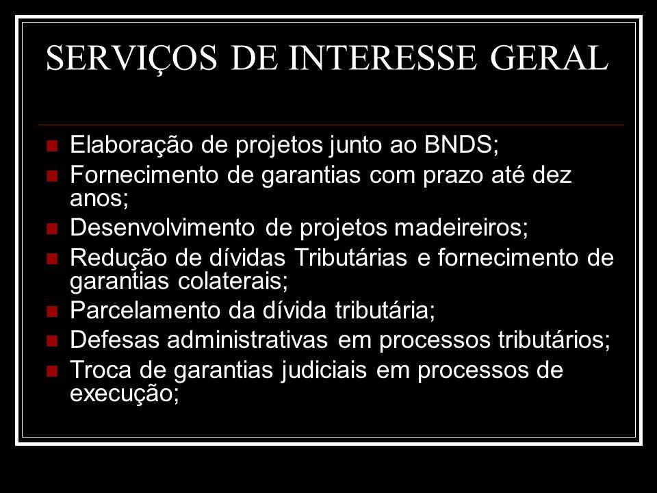 SERVIÇOS DE INTERESSE GERAL