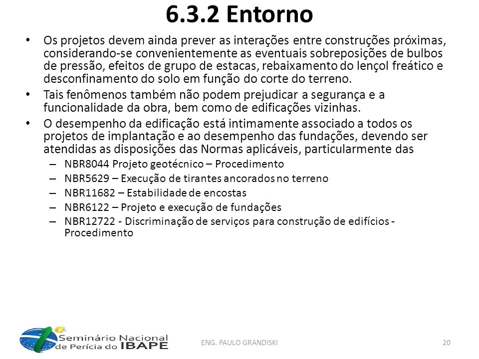 6.3.2 Entorno