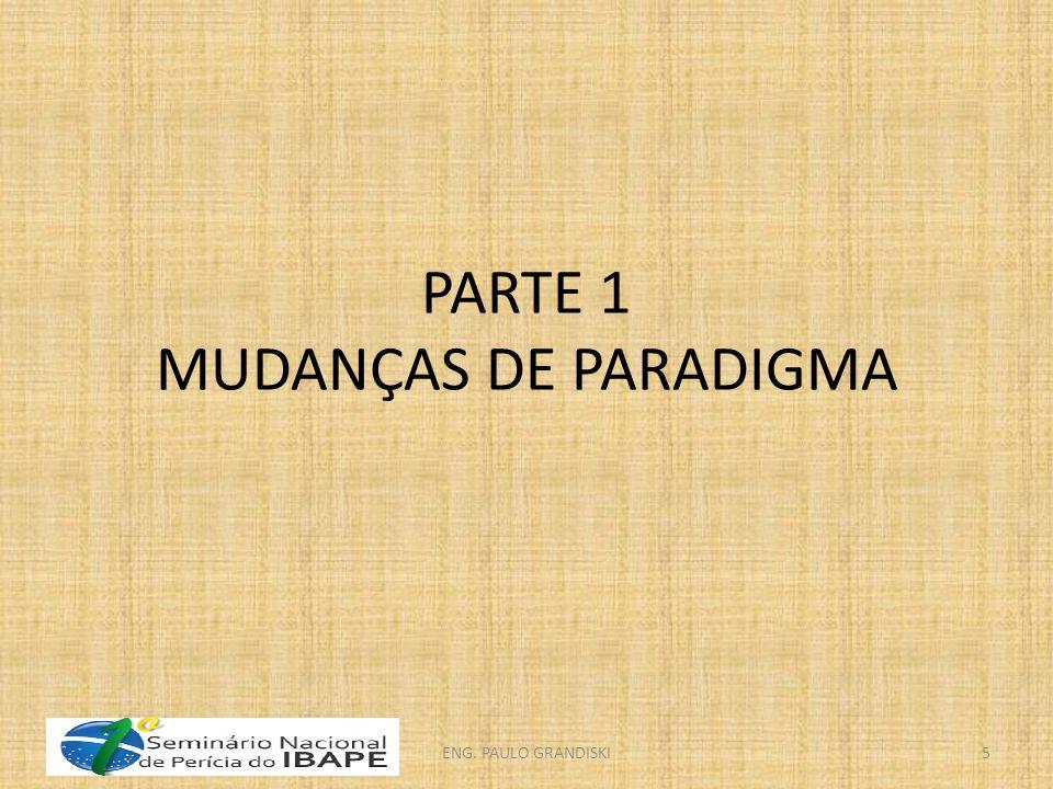 PARTE 1 MUDANÇAS DE PARADIGMA