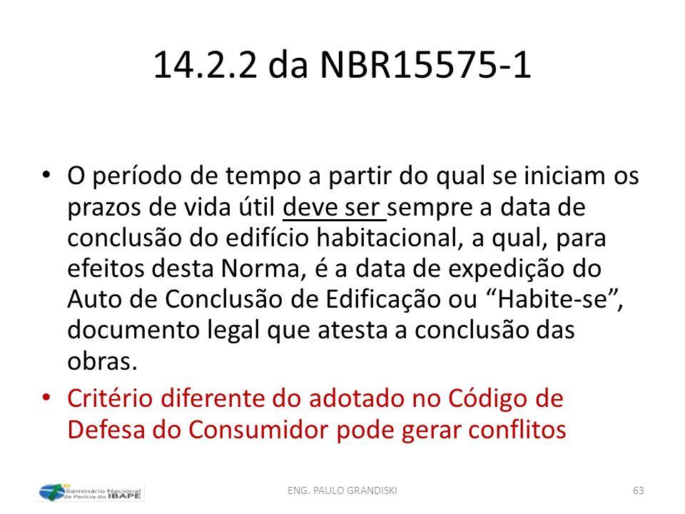 14.2.2 da NBR15575-1