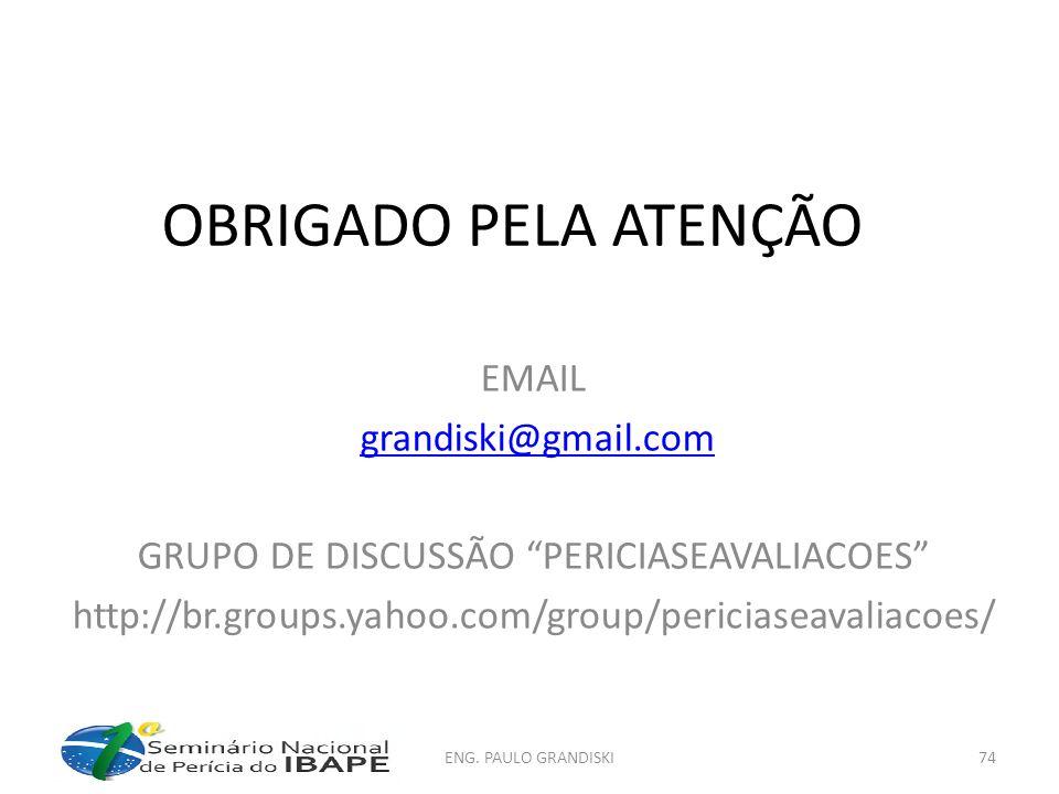 GRUPO DE DISCUSSÃO PERICIASEAVALIACOES