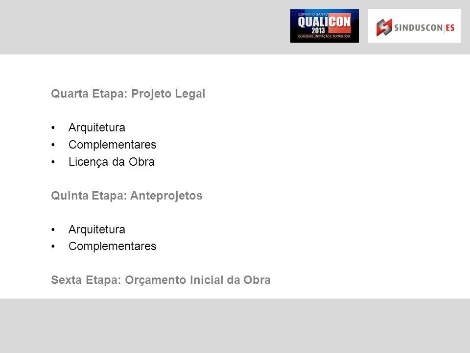 Quarta Etapa: Projeto Legal