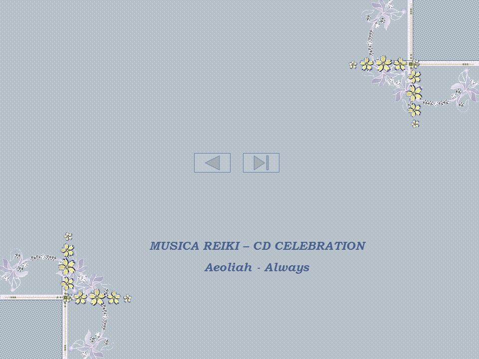 MUSICA REIKI – CD CELEBRATION