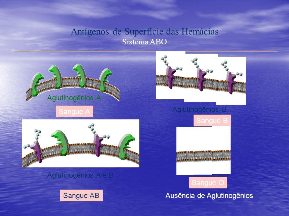 Antígenos de Superfície das Hemácias