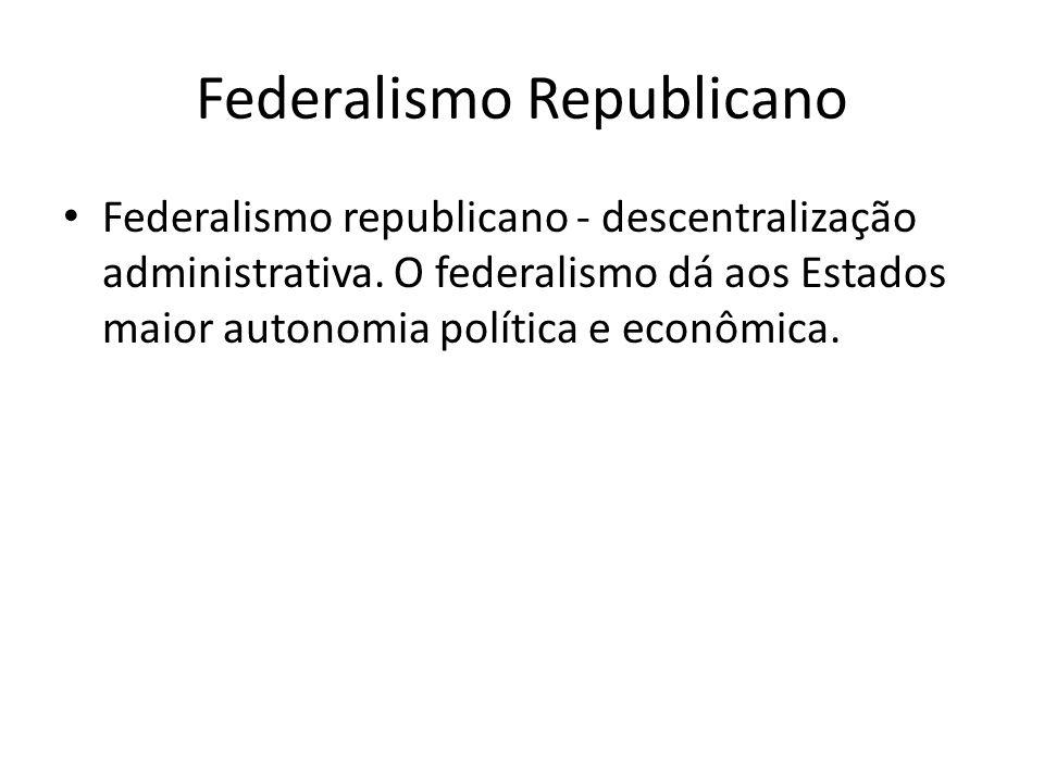 Federalismo Republicano