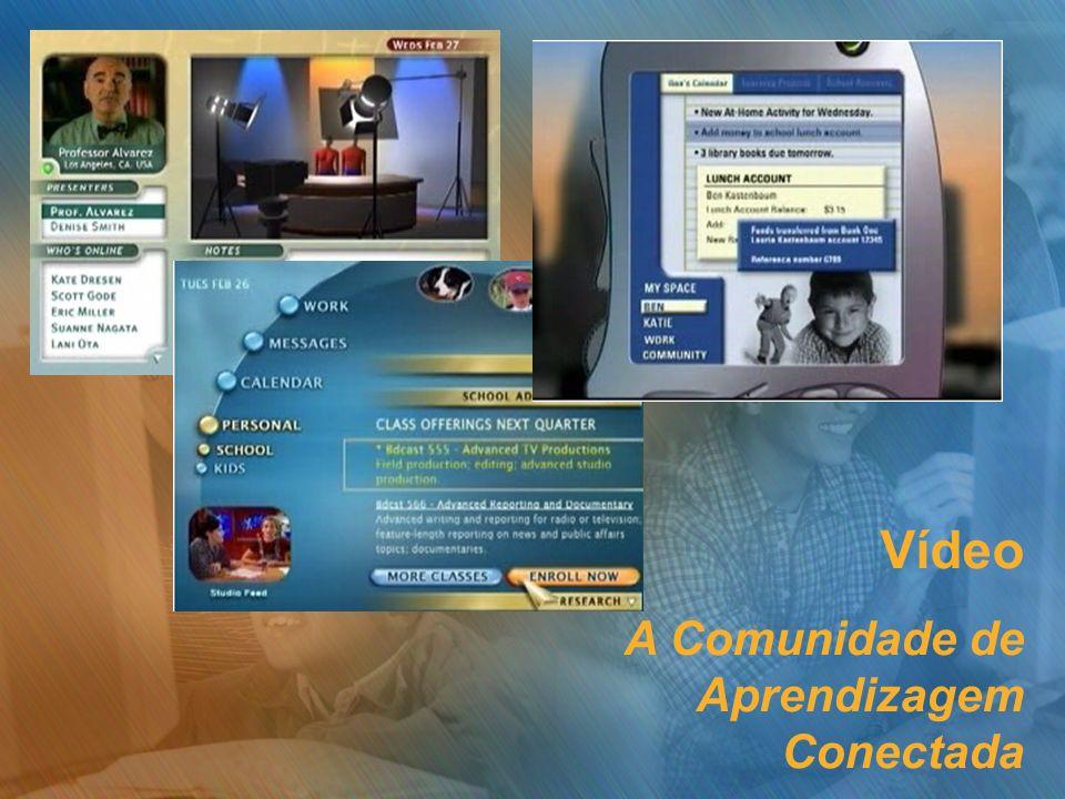 Vídeo A Comunidade de Aprendizagem Conectada