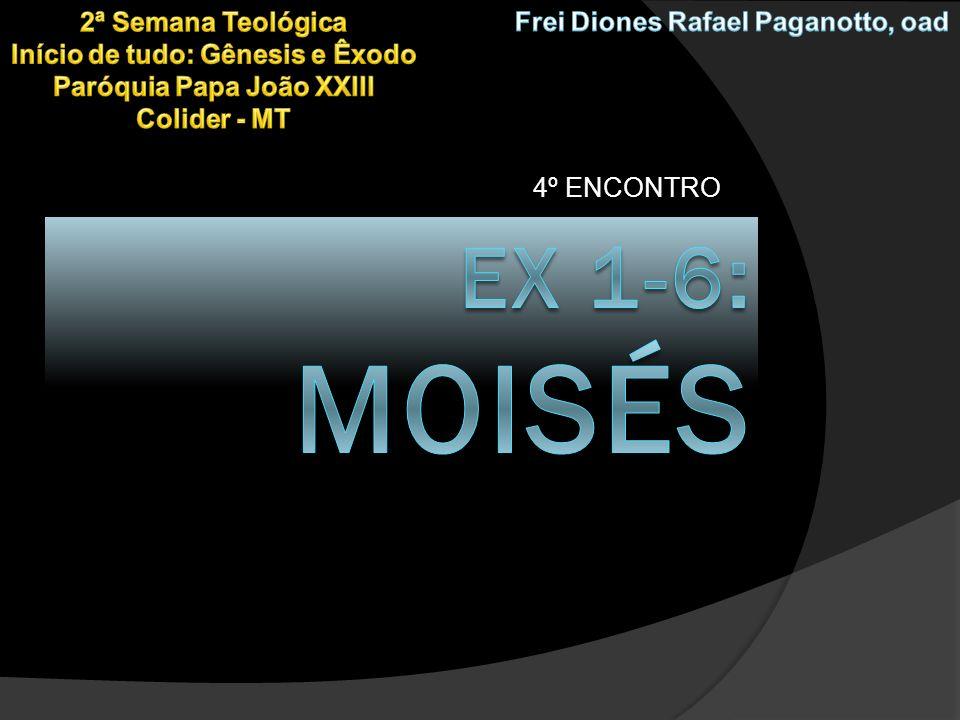 EX 1-6: Moisés 2ª Semana Teológica Início de tudo: Gênesis e Êxodo