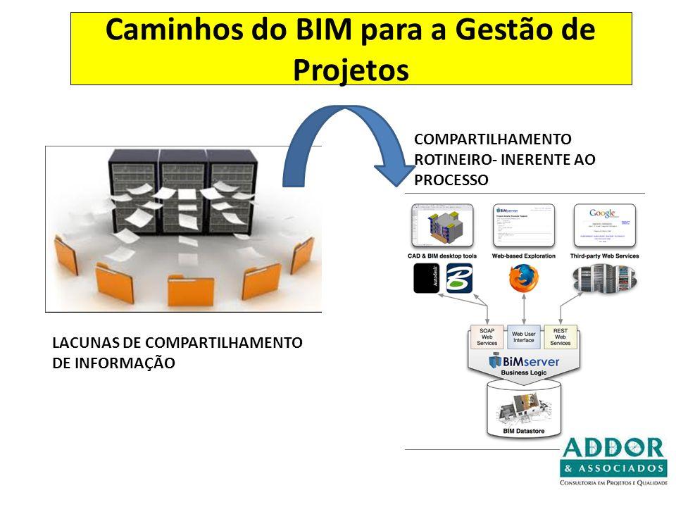Caminhos do BIM para a Gestão de Projetos