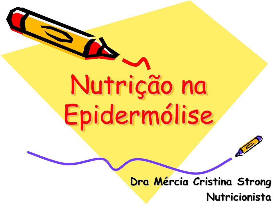 Nutrição na Epidermólise