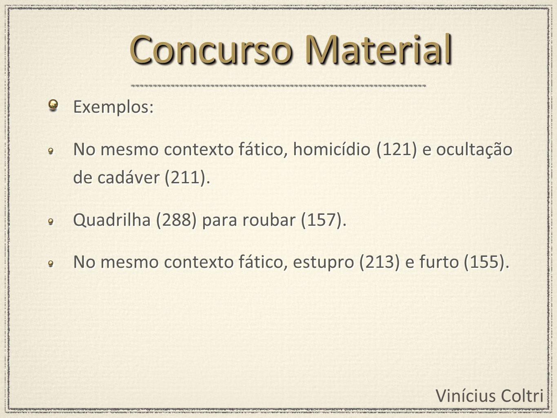 Concurso Material Exemplos: