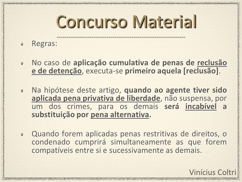Concurso Material Regras: