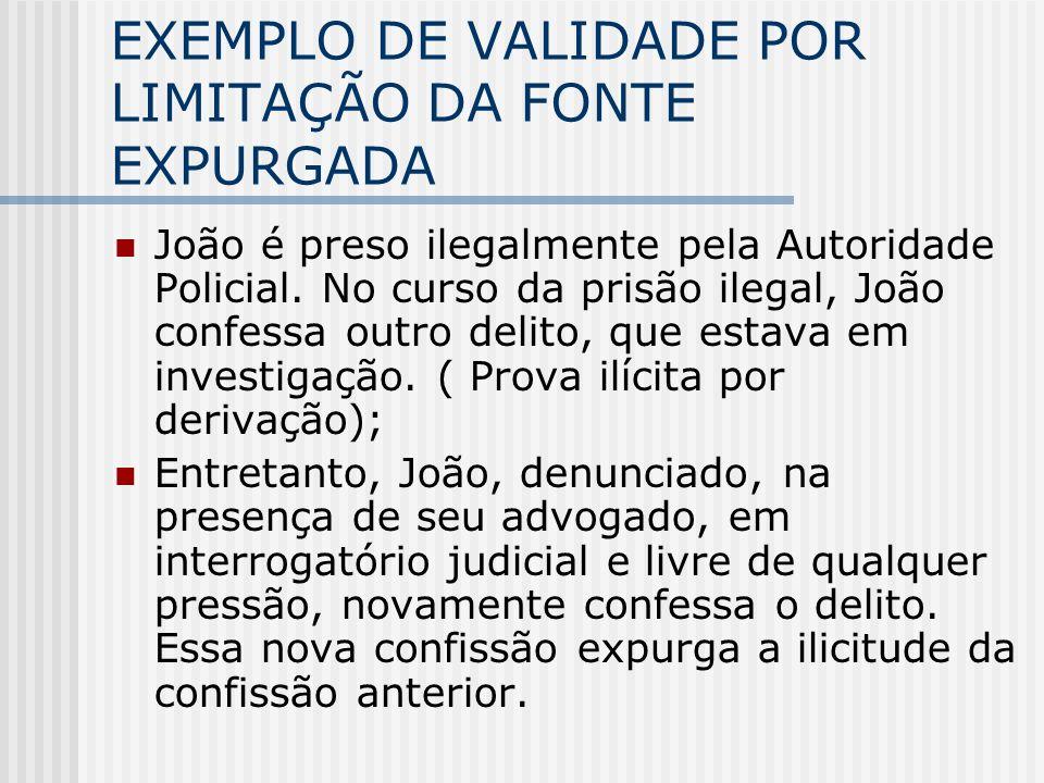 EXEMPLO DE VALIDADE POR LIMITAÇÃO DA FONTE EXPURGADA