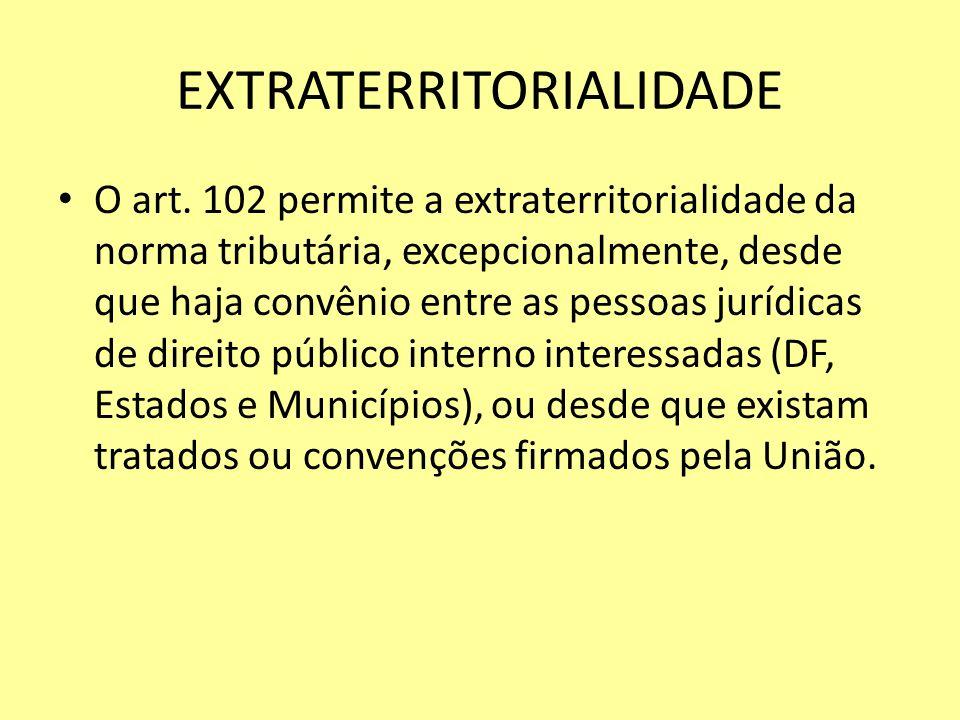 EXTRATERRITORIALIDADE