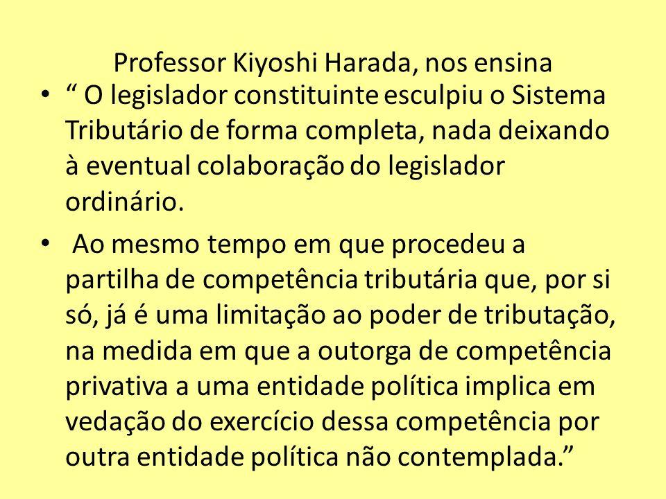 Professor Kiyoshi Harada, nos ensina