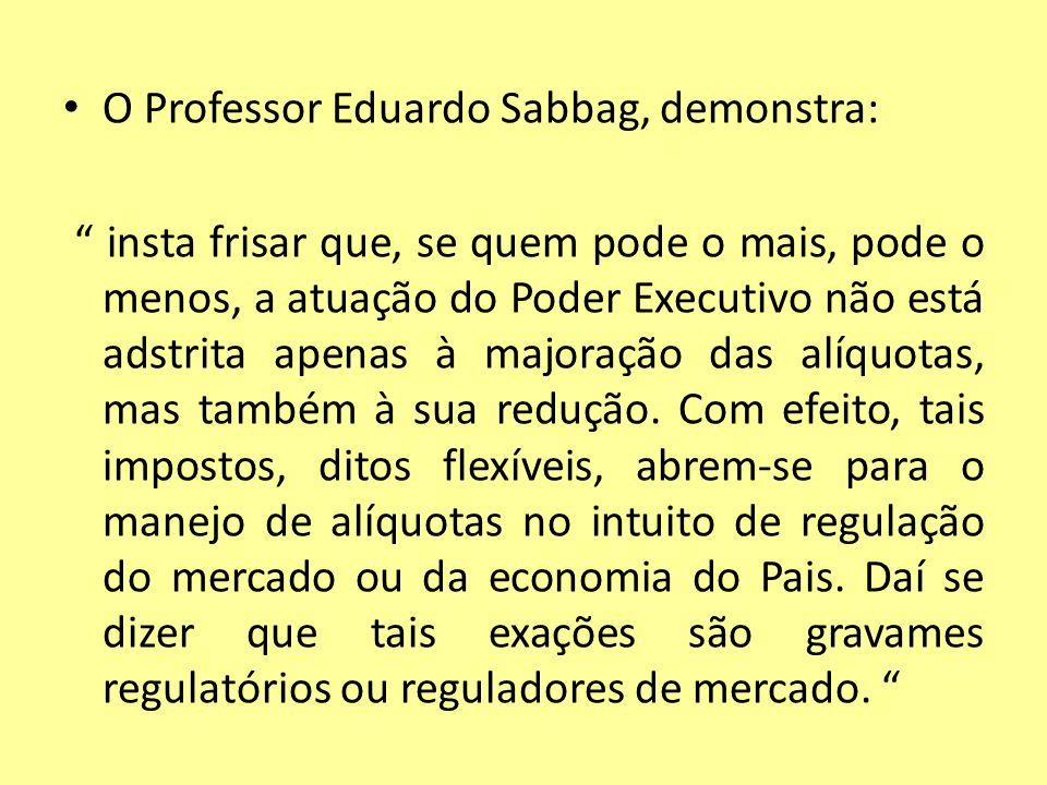 O Professor Eduardo Sabbag, demonstra: