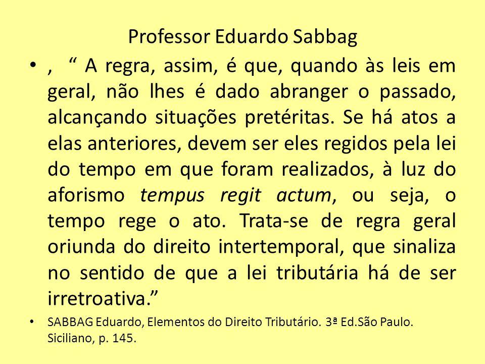 Professor Eduardo Sabbag