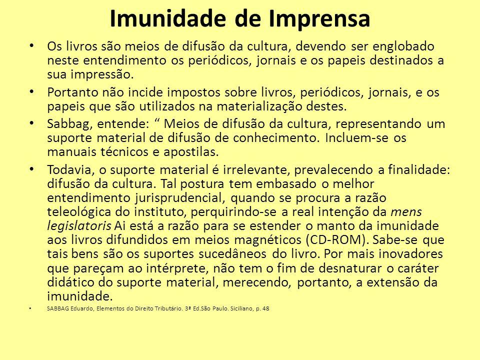 Imunidade de Imprensa