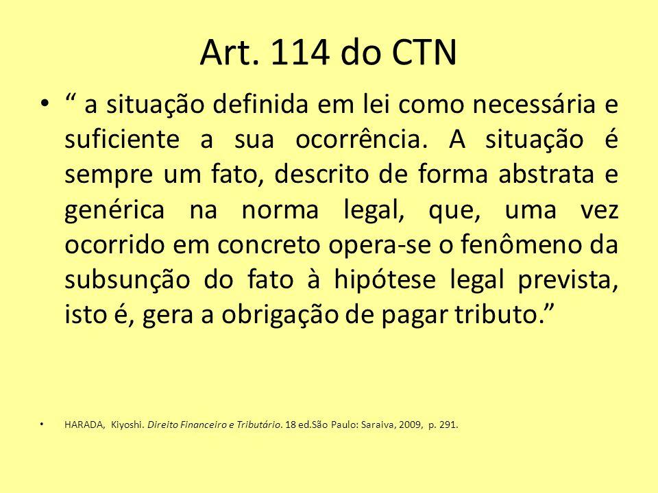 Art. 114 do CTN