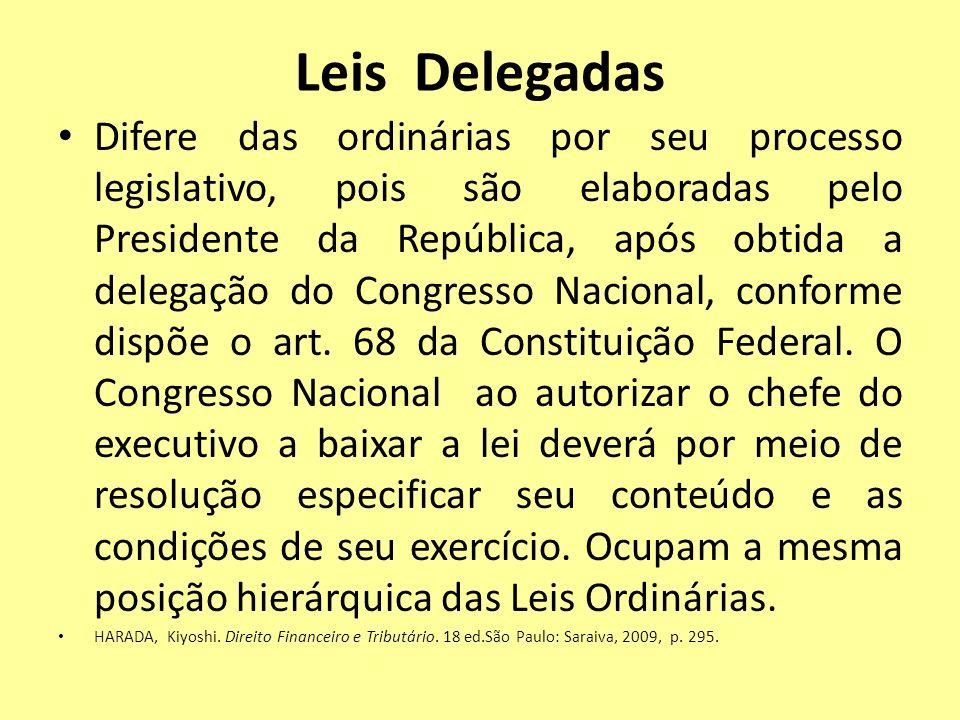 Leis Delegadas