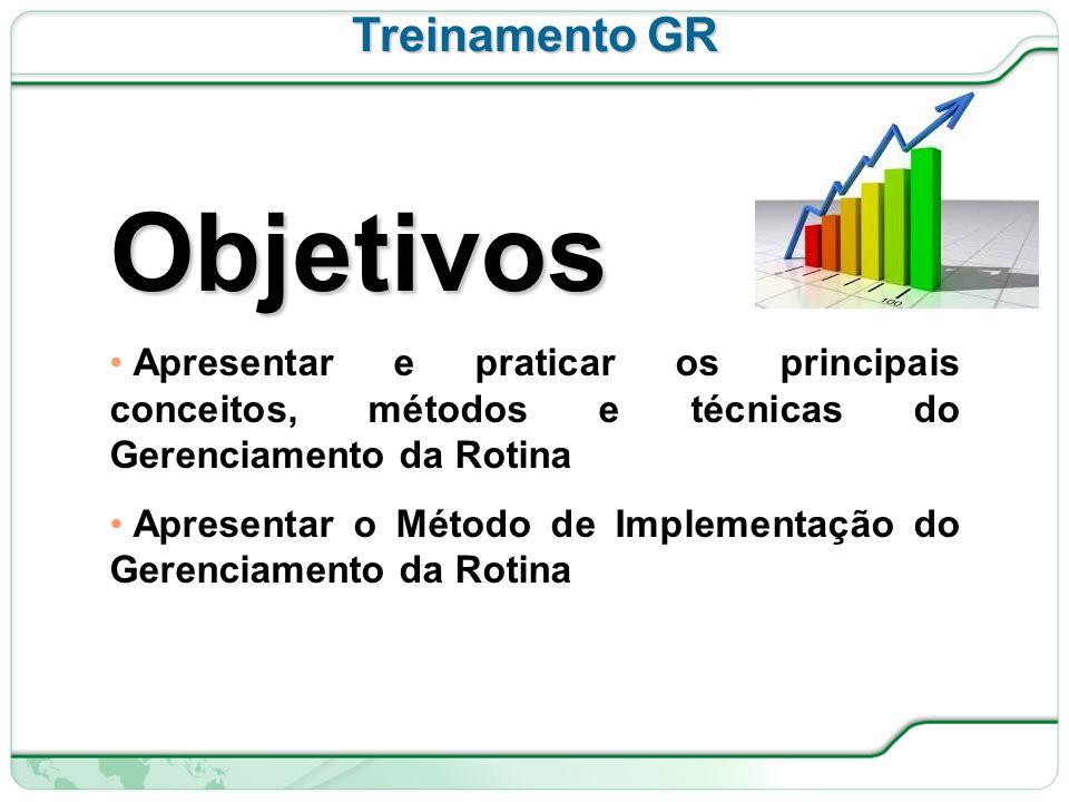 Objetivos Treinamento GR