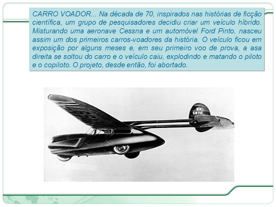 CARRO VOADOR...
