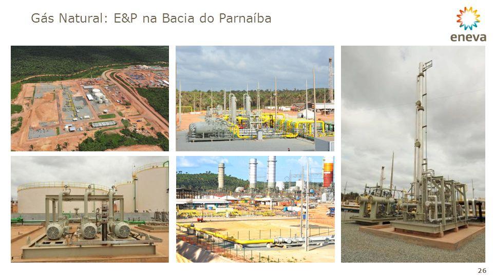 Gás Natural: E&P na Bacia do Parnaíba
