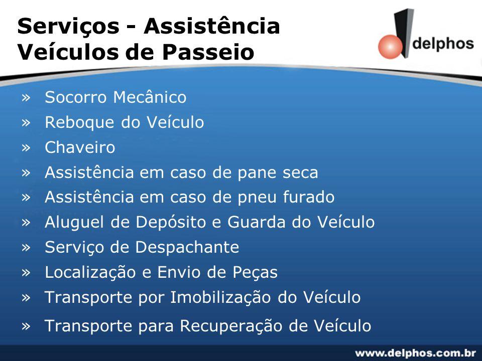 Serviços - Assistência Veículos de Passeio