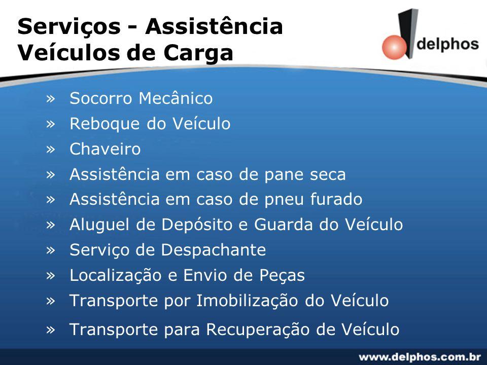 Serviços - Assistência Veículos de Carga