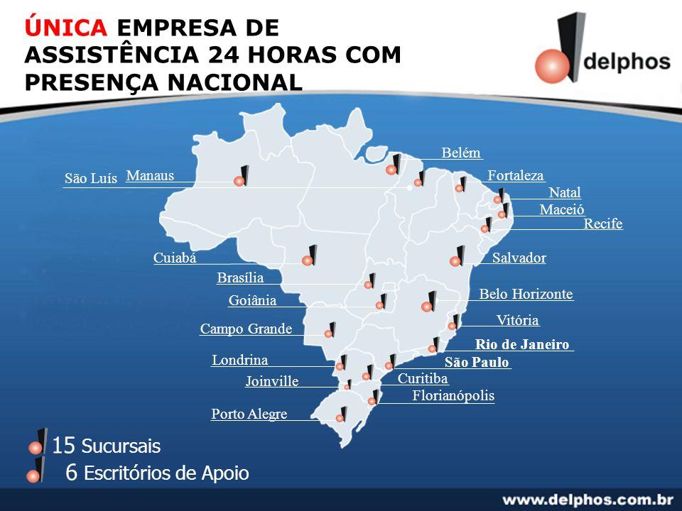 ÚNICA EMPRESA DE ASSISTÊNCIA 24 HORAS COM PRESENÇA NACIONAL