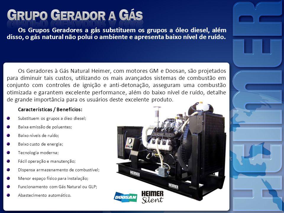 Grupo Gerador a Gás