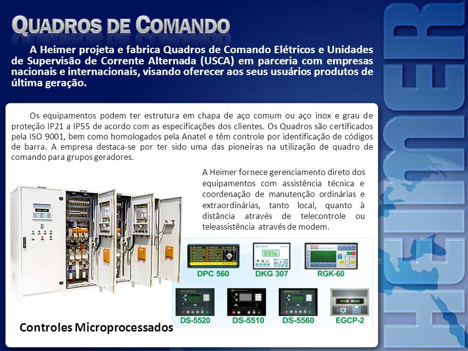 Quadros de Comando Controles Microprocessados