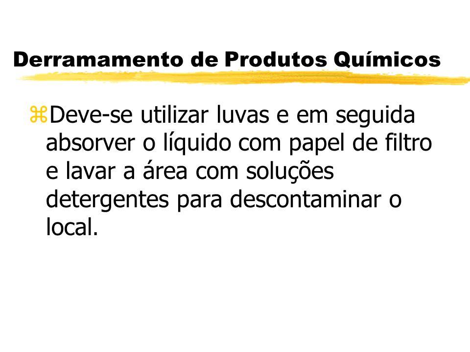 Derramamento de Produtos Químicos