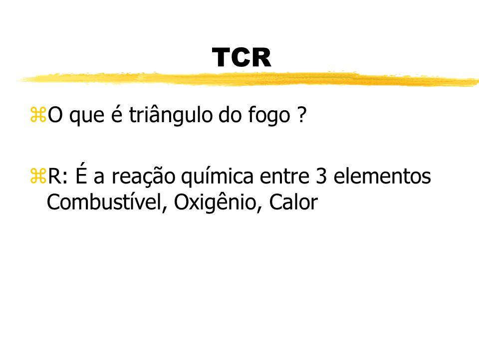 TCR O que é triângulo do fogo