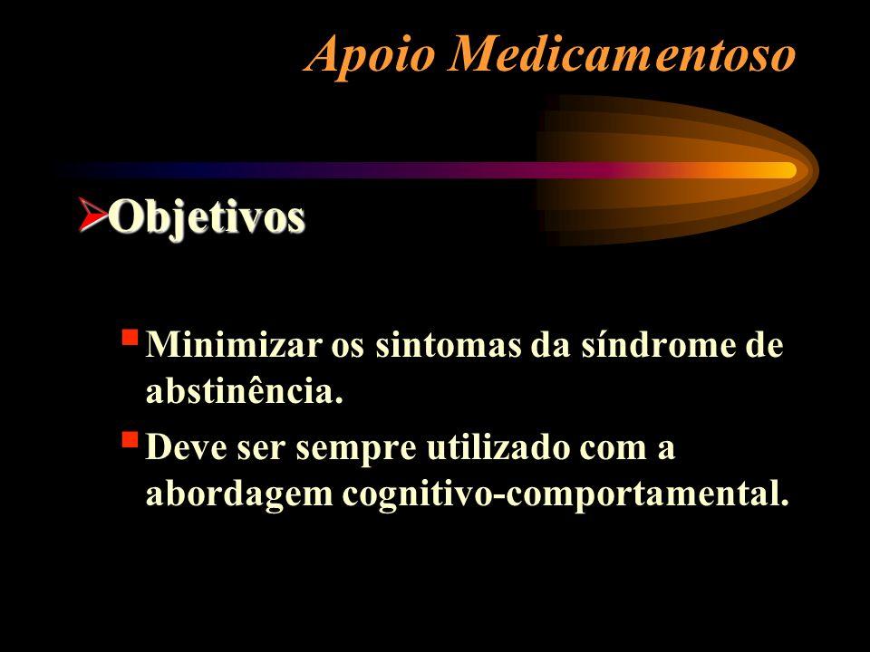 Apoio Medicamentoso Objetivos