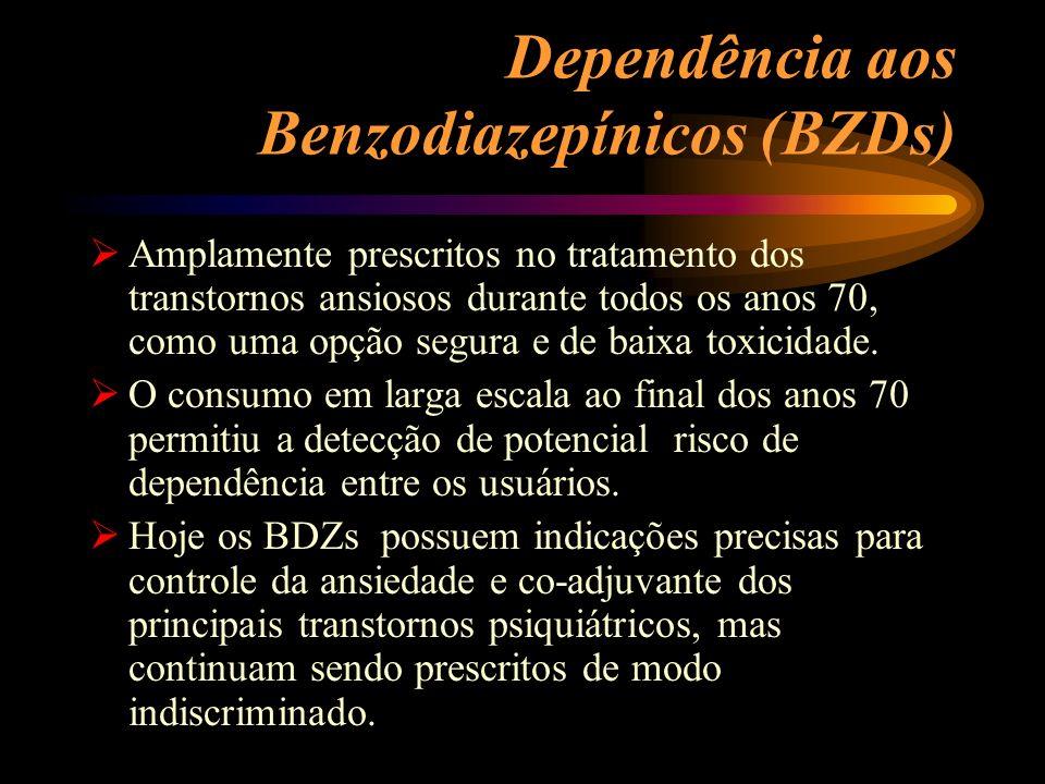Dependência aos Benzodiazepínicos (BZDs)
