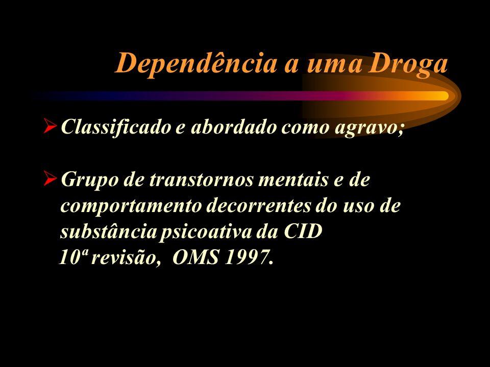 Dependência a uma Droga