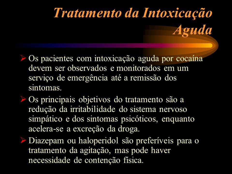 Tratamento da Intoxicação Aguda