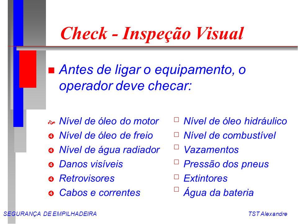 Check - Inspeção Visual