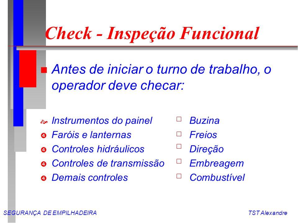 Check - Inspeção Funcional