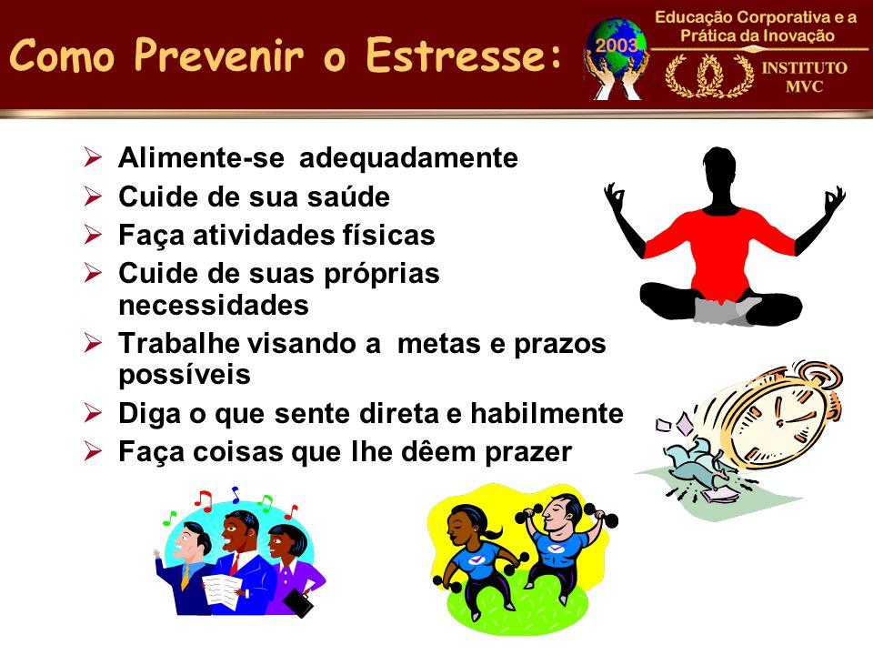 Como Prevenir o Estresse: