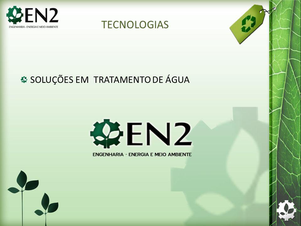 TECNOLOGIAS SOLUÇÕES EM TRATAMENTO DE ÁGUA
