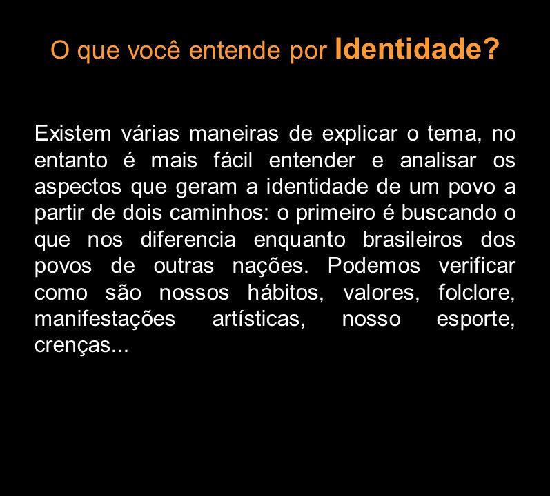 O que você entende por Identidade