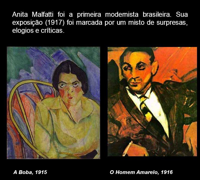 Anita Malfatti foi a primeira modernista brasileira
