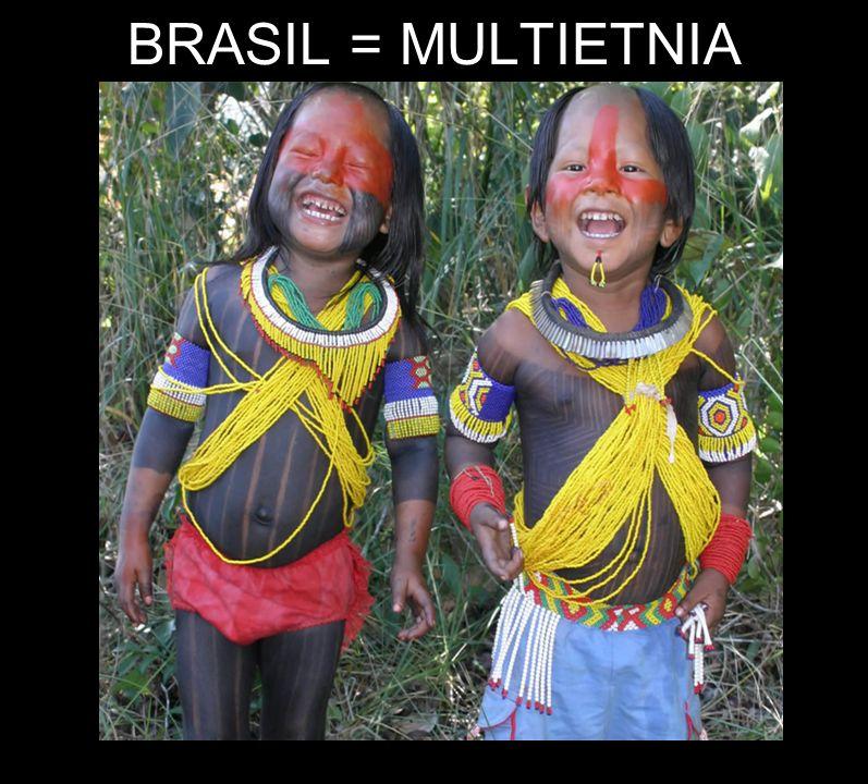 BRASIL = MULTIETNIA