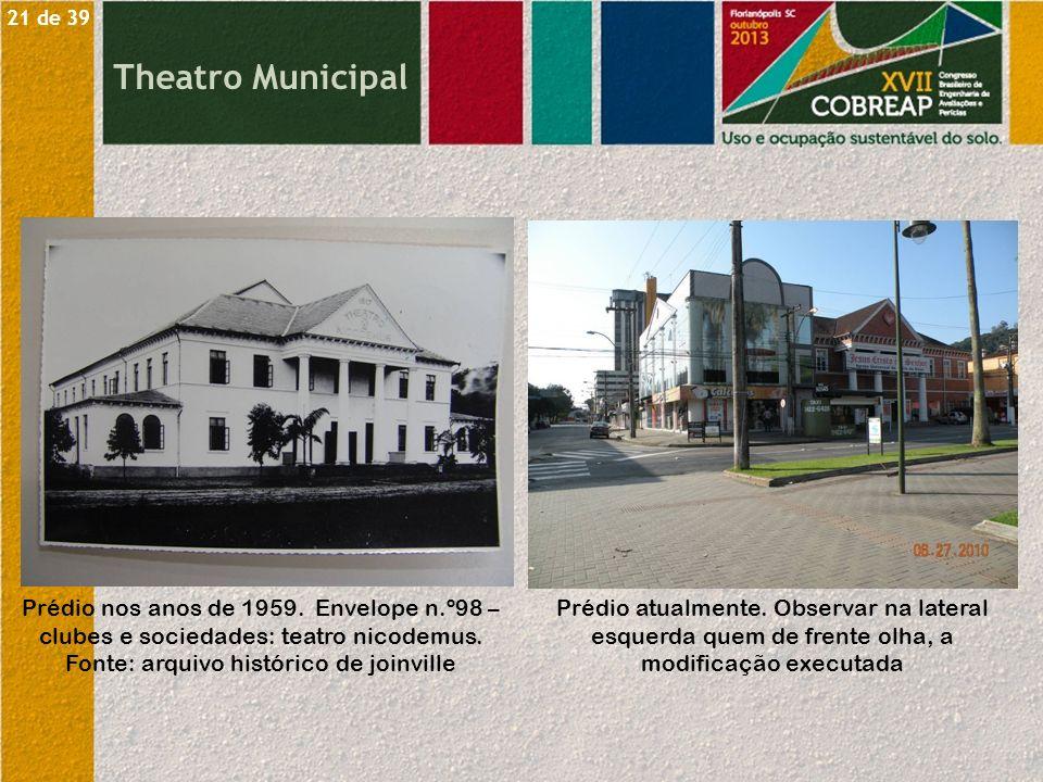 21 de 39 Theatro Municipal.