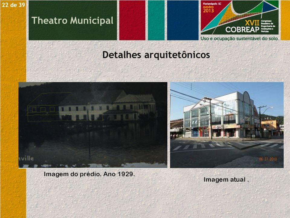 Detalhes arquitetônicos